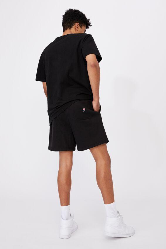 Fila Lcn Classic Fleece Short, BLACK
