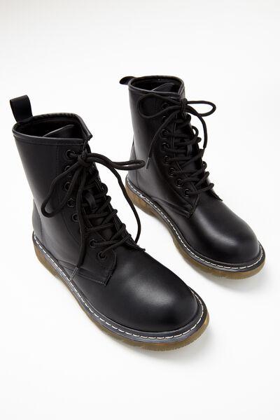 Combat Boot, BLACK
