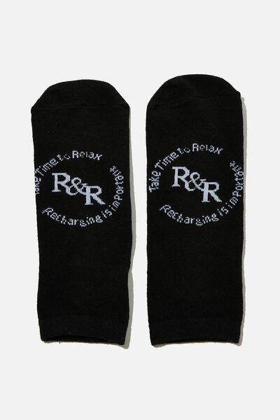 Anklet Original Sock, R&R BLACK