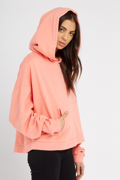 Harris Hooded Sweat, SHELL PINK