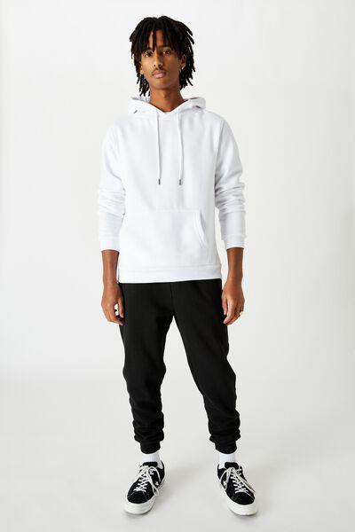Basic Track Pant, BLACK