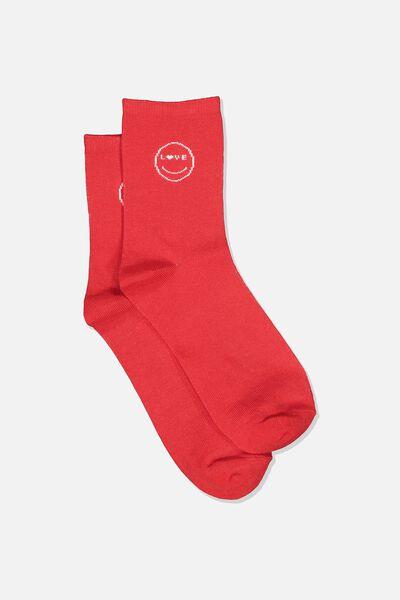 The Original Sock, RED_LOVE