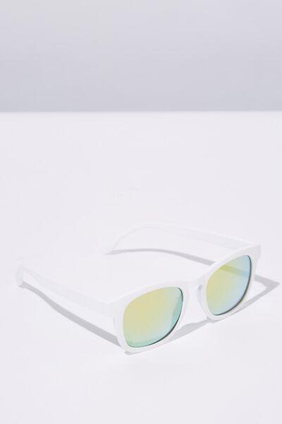 Waymax Sunglasses, WHITE RUB_GRN PNK
