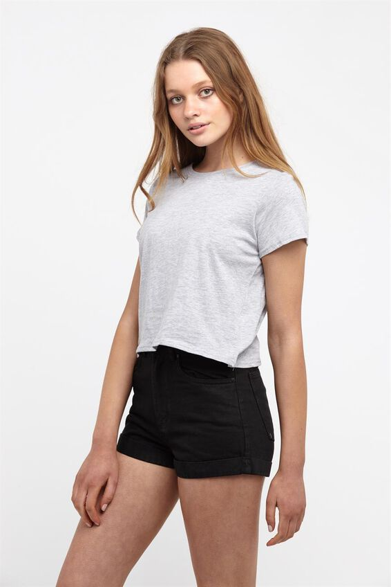 Haleigh Tee, GREY MARLE