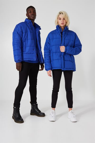 Arbour Puffer Jacket, BLUE