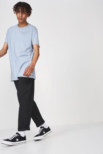 Longline T Shirt, FOREVER BLUE