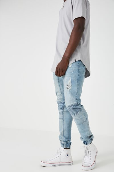 The Moto Jogger, WASHED BLUE