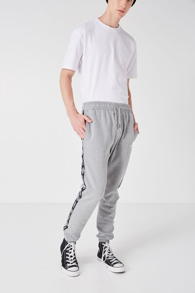 Umbro Side Stripe Trackie, GREY MARLE