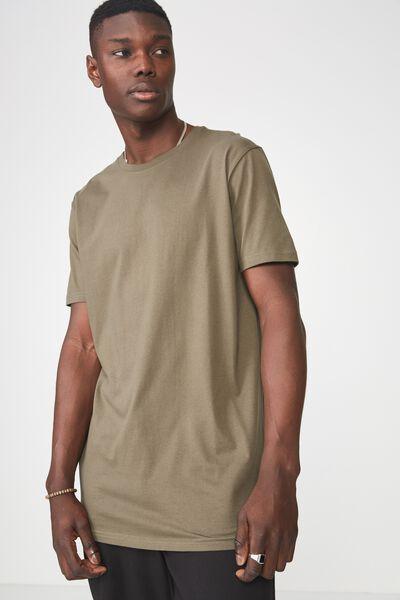 Longline T Shirt, CLOVER