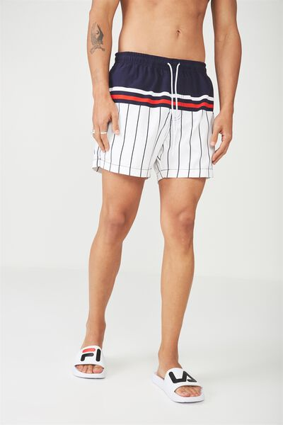 Swim Short, BOXING STRIPE