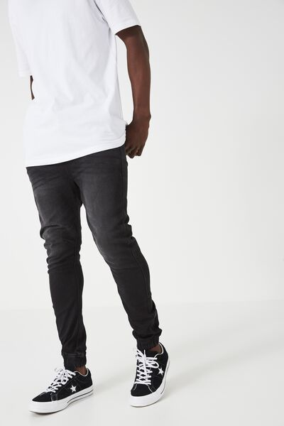 The Denim Jogger, TRUE BLACK WASH