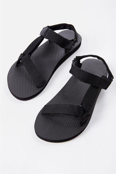 B-Utility Sandal, BLK_BLACK