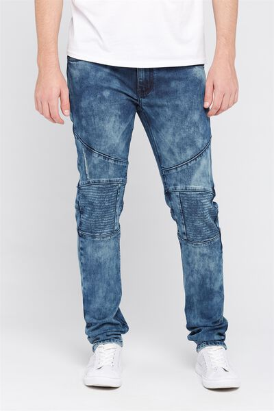 Rosco Moto Jean, BLUE PEARL