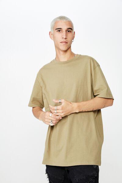 Regular T Shirt, KHAKI