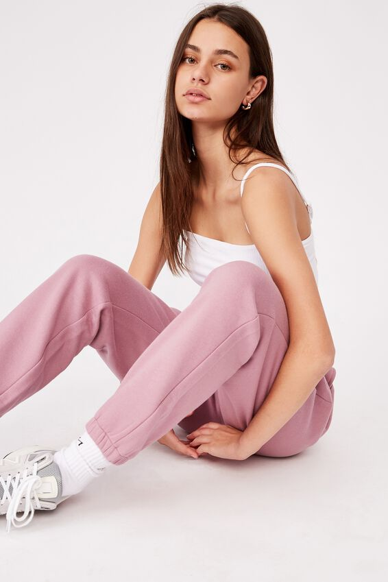 Classic Trackpant, DUSTY PURPLE
