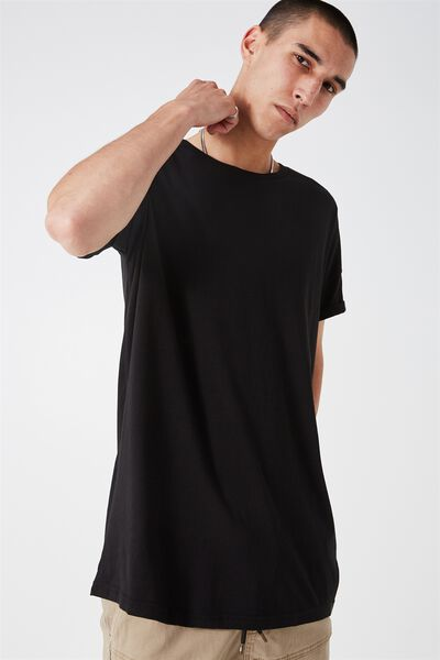 The Cap Tee, BLACK