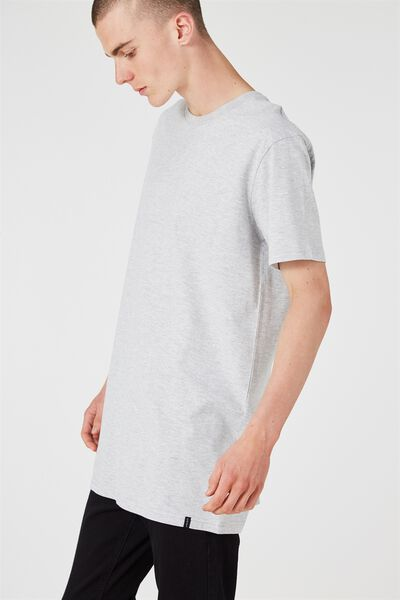 The Tall Tee, LIGHT GREY MARLE