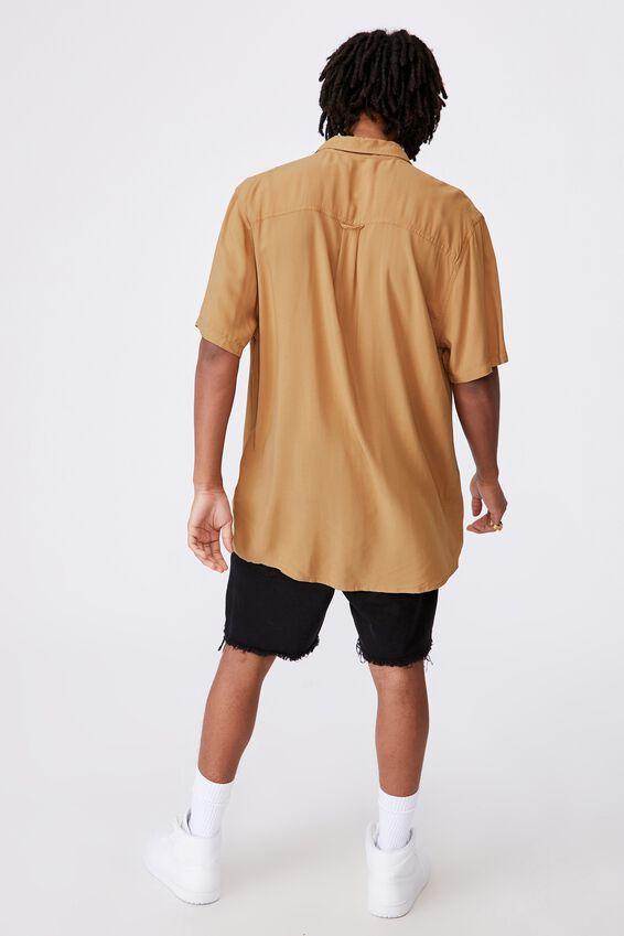 Resort Shirt, PALE GOLD