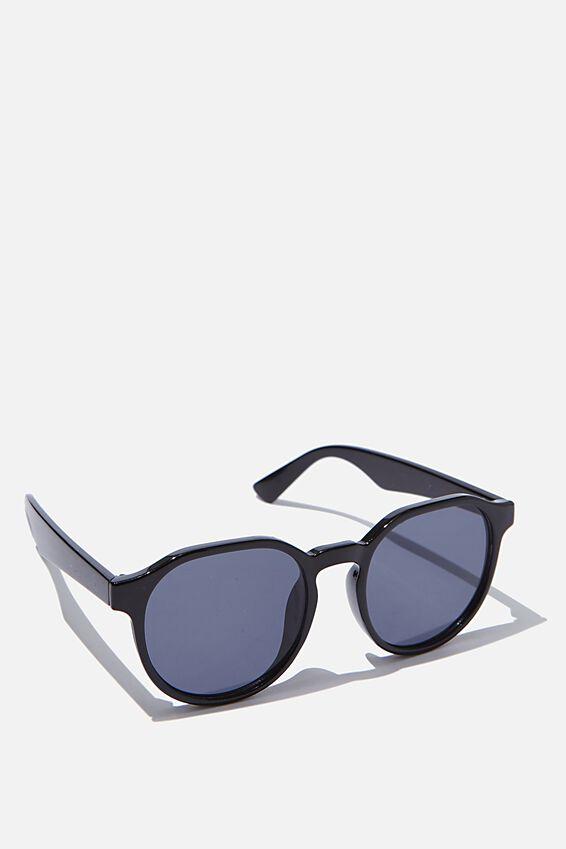 Millenium Preppy Sunglasses, BLACK
