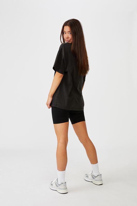 Lcn Super Relaxed Graphic Tee, LCN WB BEETLEJUICE WEDDING WASHED BLACK