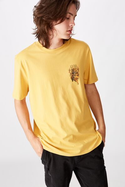 Regular Graphic T Shirt, CHEDDAR FEAR NONE