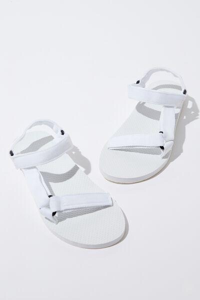 B-Utility Sandal, WHITE_WHT