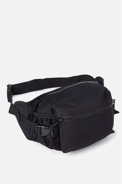 Hiking Crossbody Bag, BLACK