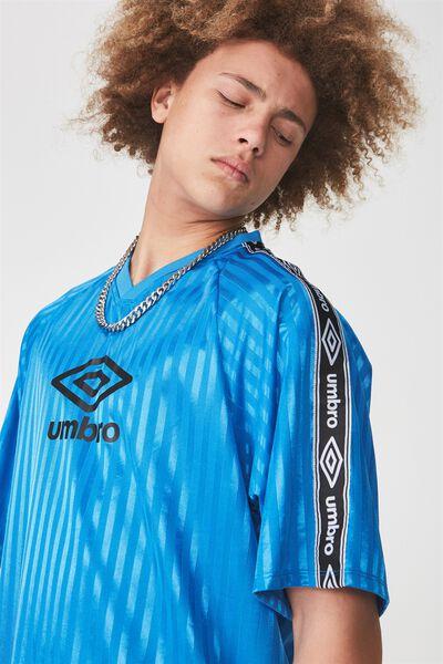 Umbro Lcn Soccer Jersey V-Neck, UMBRO FRENCH BLUE
