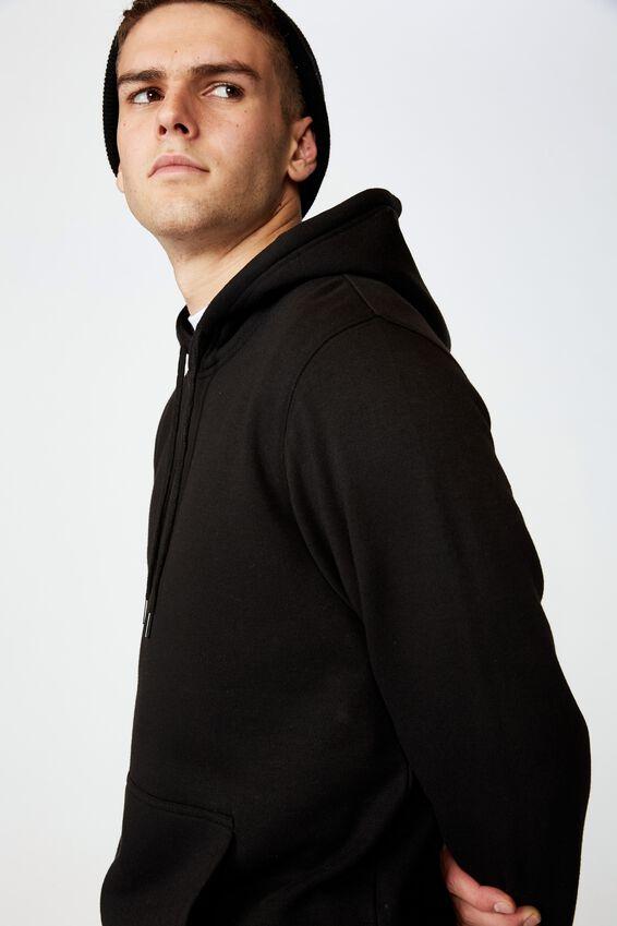 Basic Hoodie, BLACK