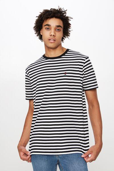 1c4ed33f0fbc5d Classic Embroided Stripe T Shirt