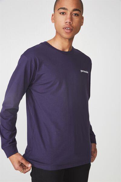 Ls Graphic T Shirt, ECLIPSE/PARANOIA