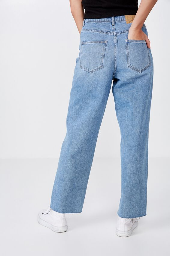 Relaxed Fit Jean, 90's BLUE