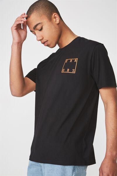 Graphic T Shirt, BLACK/SQUARE ERRORS