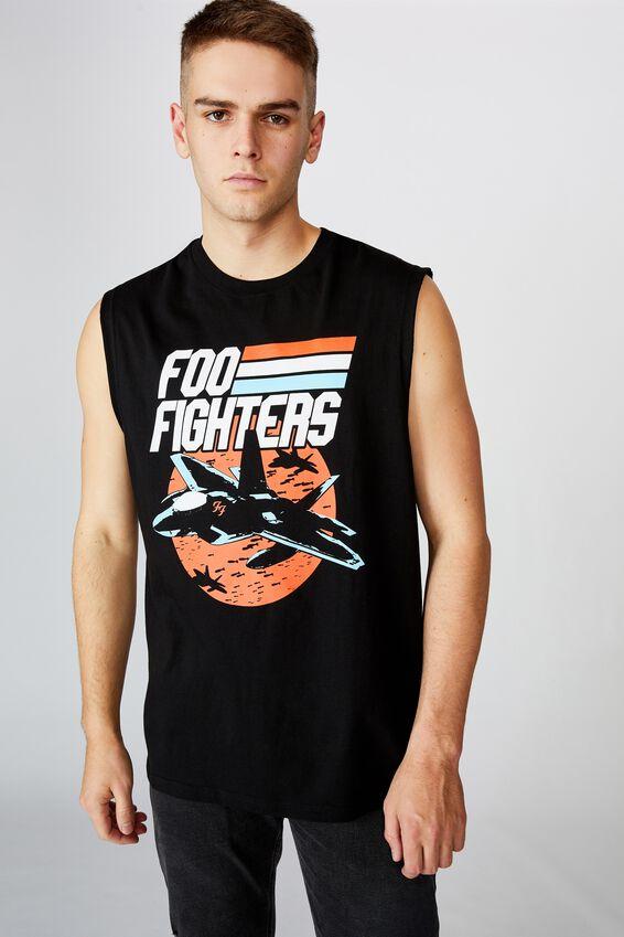 License Tank, BLACK/FOO FIGHTERS