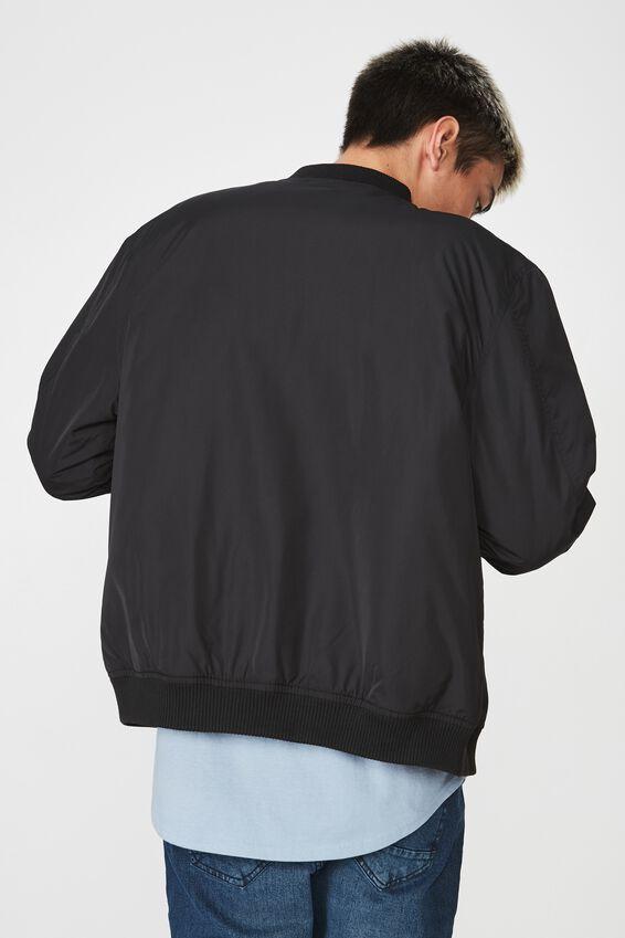 Bomber Jacket, BLACK