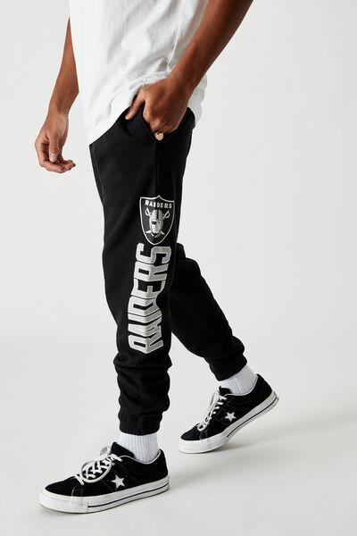 Licensed Graphic Track Pant, BLACK/RAIDERS
