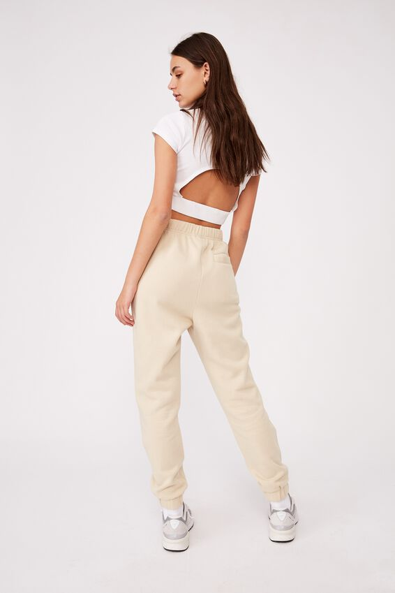 Super High Rise Trackpant, FOG