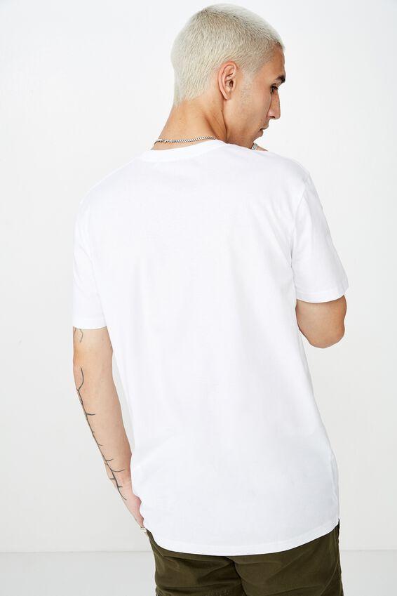 Slim Graphic T Shirt, WHITE/NO BAD DAYS