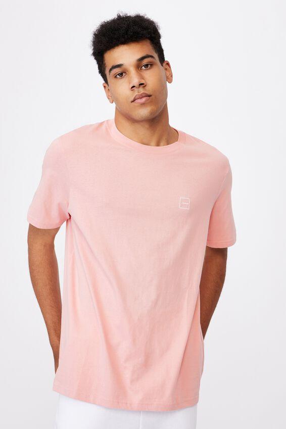 Regular Fct T Shirt, SOFT PINK/STACK LOGO