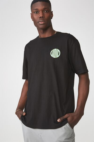 Graphic T Shirt, BLACK/SPIN THE VOID