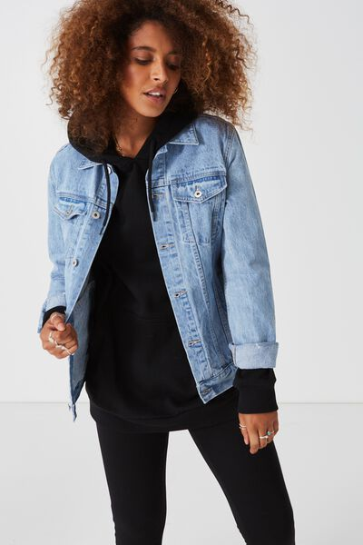 The Original Denim Jacket, THRIFT BLUE