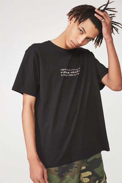 Graphic T Shirt, BLACK/BINARY