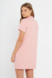Choker Tee Dress, BRIDAL ROSE
