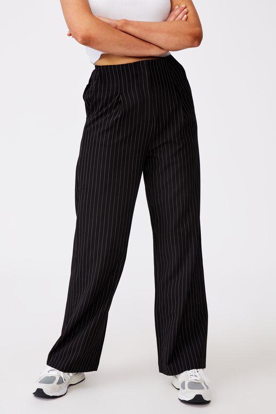 Tailored Pant, PINSTRIPE