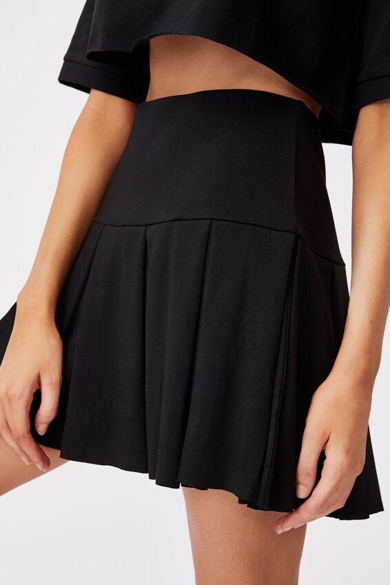 Tennis Skirt, BLACK