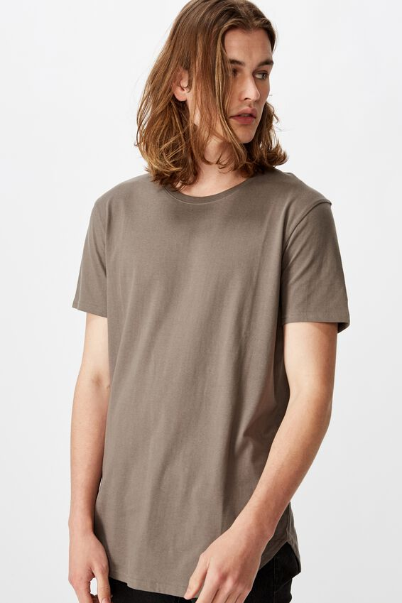 Curved T Shirt, TORNADO