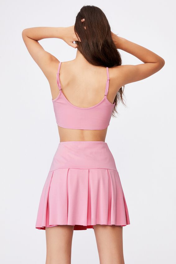 Co-Ord Crop Top, BABE PINK
