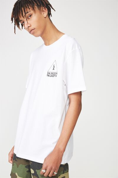 Graphic T Shirt, WHITE/LA CO-ORDS