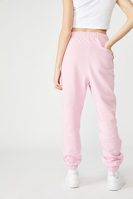 Super High Rise Trackpant, BABE PINK