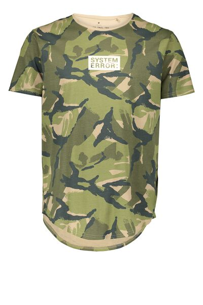 Curved Tail Tee, CAMO/SYSTEM ERROR